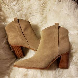 Sarto by Franco Sarto Ella western ankle boots